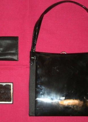 Kaufe meinen Artikel bei #Kleiderkreisel http://www.kleiderkreisel.de/damentaschen/handtaschen/121126156-elegante-handtasche-lack-schwarz