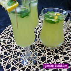 kolay pratik ev yapımı evde limonata nasıl yapılır yapılışı tarifi, farklı değişik limonata buzlu yaz kokyteli içeceği içecekleri meyve suyu tarifleri