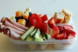healthy picnic snacks