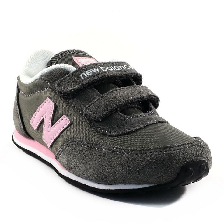 304A NEW BALANCE KE410 GRIS www.ouistiti.shoes le spécialiste internet de la chaussure enfant et femme collection automne hiver 2014 2015