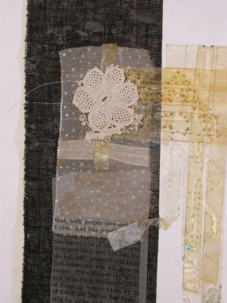 Mandy Pattullo / Thread and Thrift - sketchbook pages  http://threadandthrift.blogspot.com/2010/10/sketchbook-pages.html #collage