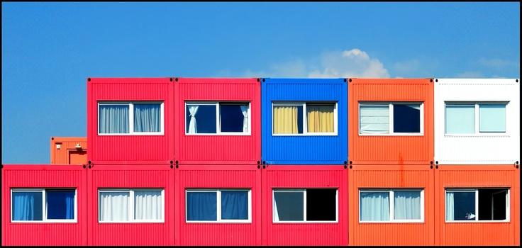 containerwoningen ndsm terrein amsterdam noord. Black Bedroom Furniture Sets. Home Design Ideas