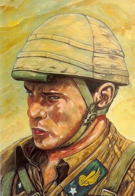 """Regio Esercito - Paracadutista della Divisione """"Folgore"""" a El Alamein, 24 ottobre - 4 novembre 1942."""