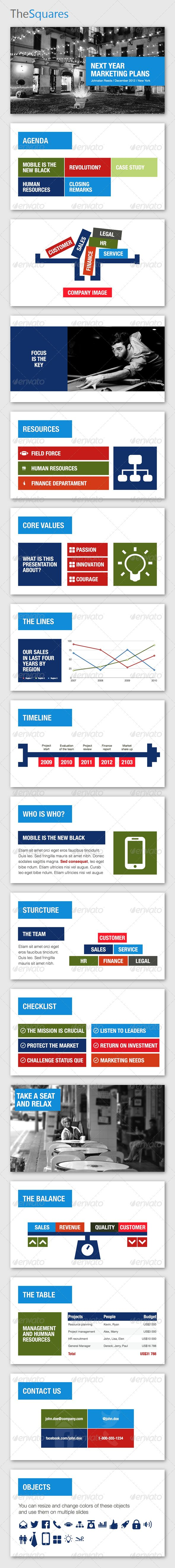 59 best presentation design images on pinterest ppt design page thesquares keynote template alramifo Images