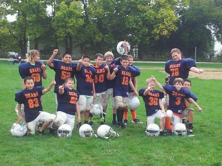 Colin's football team 2013