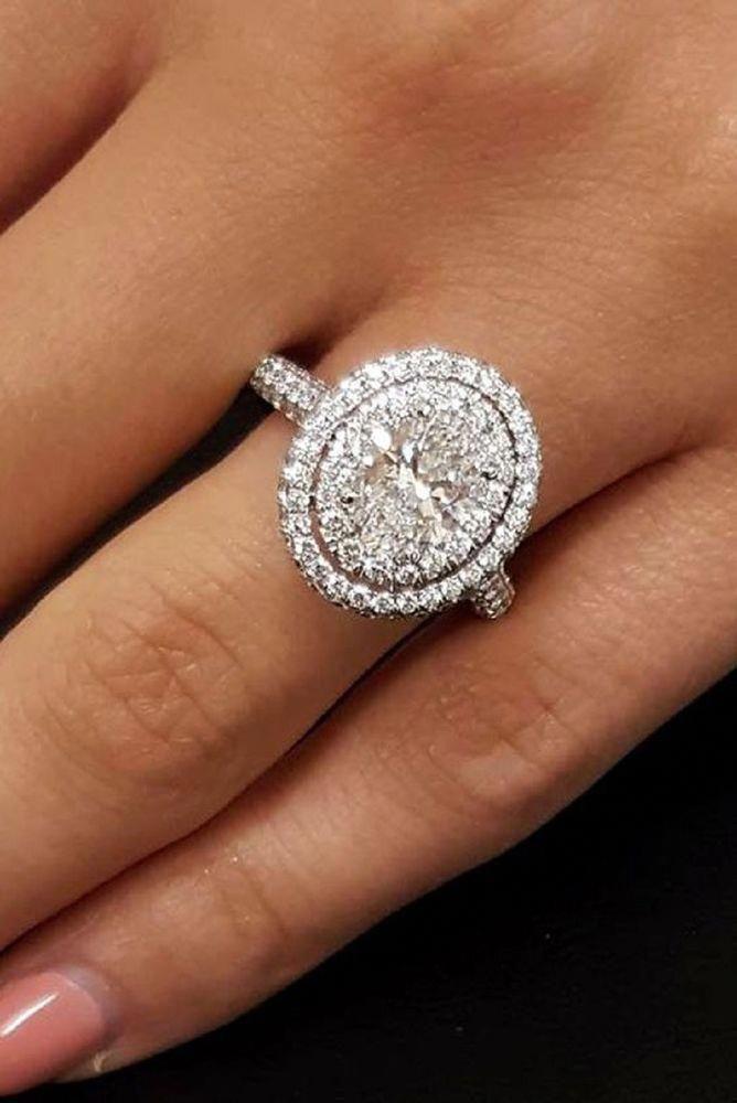 Moissanite Unique Engagement Ring Unique 14k White Gold Twist Ring