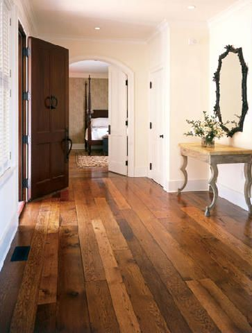This Is The Floor I Want To Put In My House. Wide Plank Floor