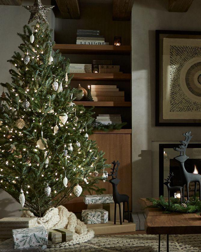 Christmas tree #christmastree #christmas #crateandbarrel #ornaments