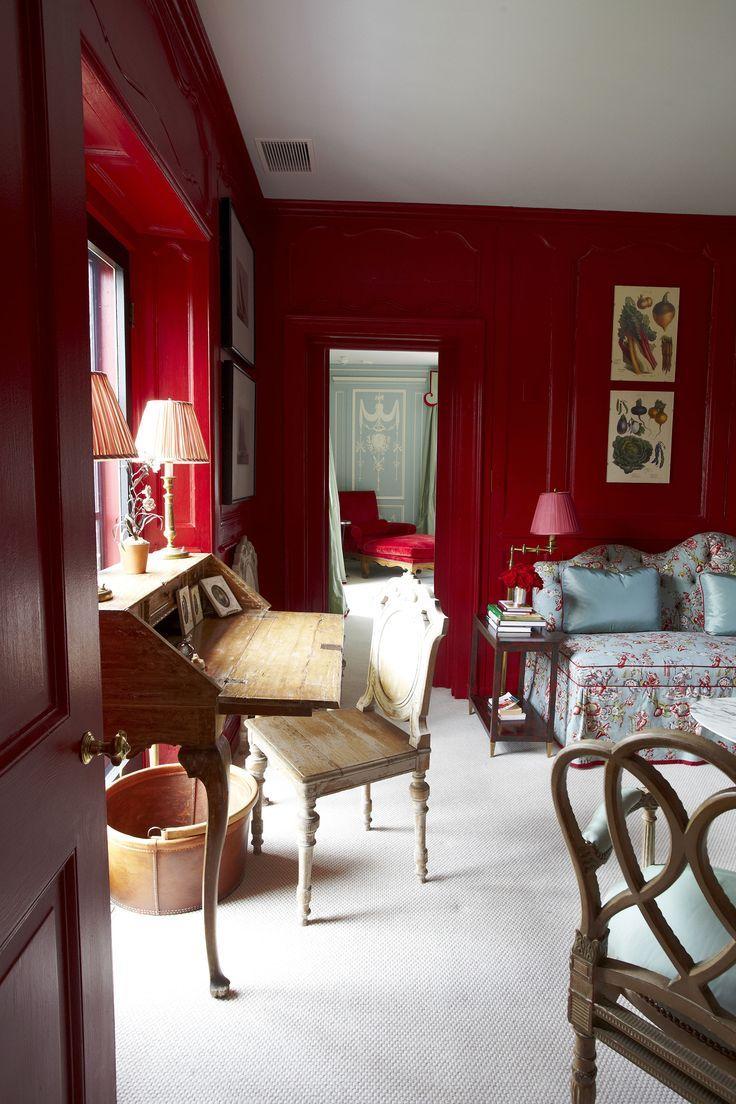 Brown marble bathroom miles redd - Miles Redd