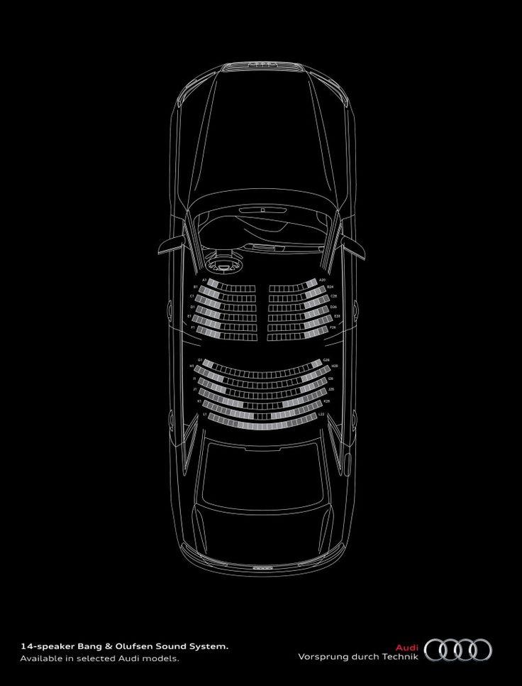 Publicité Audi : Vivre l'opéra en voiture