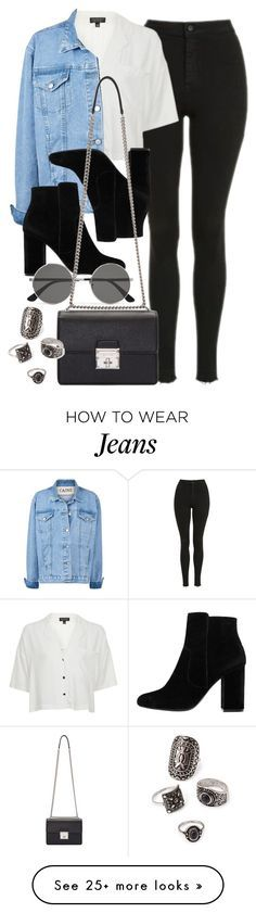 """Style #11629"" by vany-alvarado on Polyvore featuring Topshop, MANGO, Yves Saint Laurent, Dolce&Gabbana and Forever 21"