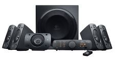 LOGITECH Z906 ULTIMATE THX SURROUND SOUND SPEAKER SYSTEM NEW IN BOX