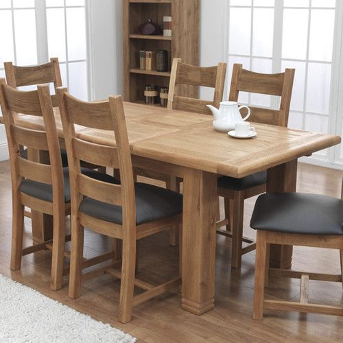 Buy Westbury Reclaimed Oak Extending Table From Our Dining Tables Range At Tesco Direct