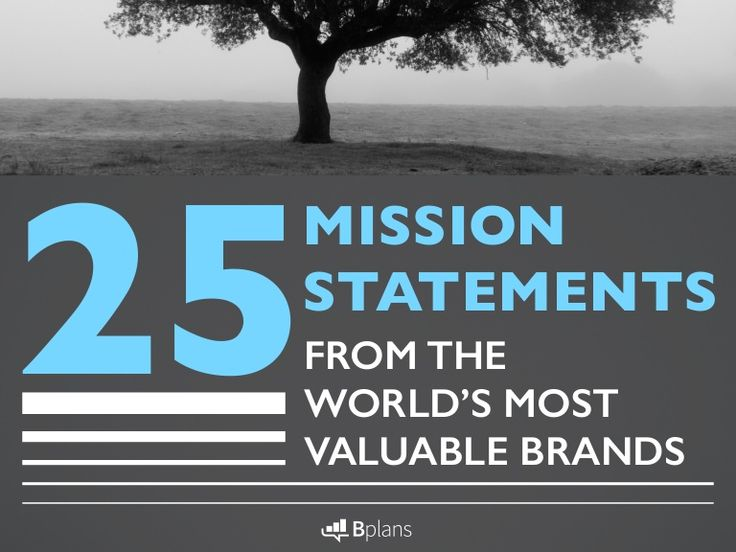 how to write a company mission statement