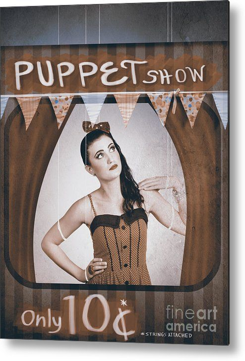 Pinup puppet show