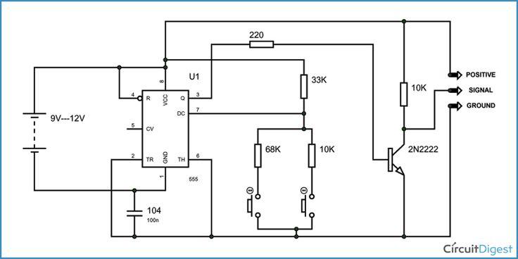 servo motor tester circuit diagram