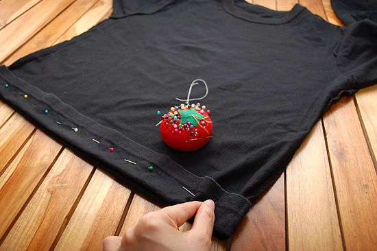 How to Hem a t-Shirt: 6 steps - wikiHow