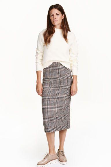 Gonna in misto lana | H&M