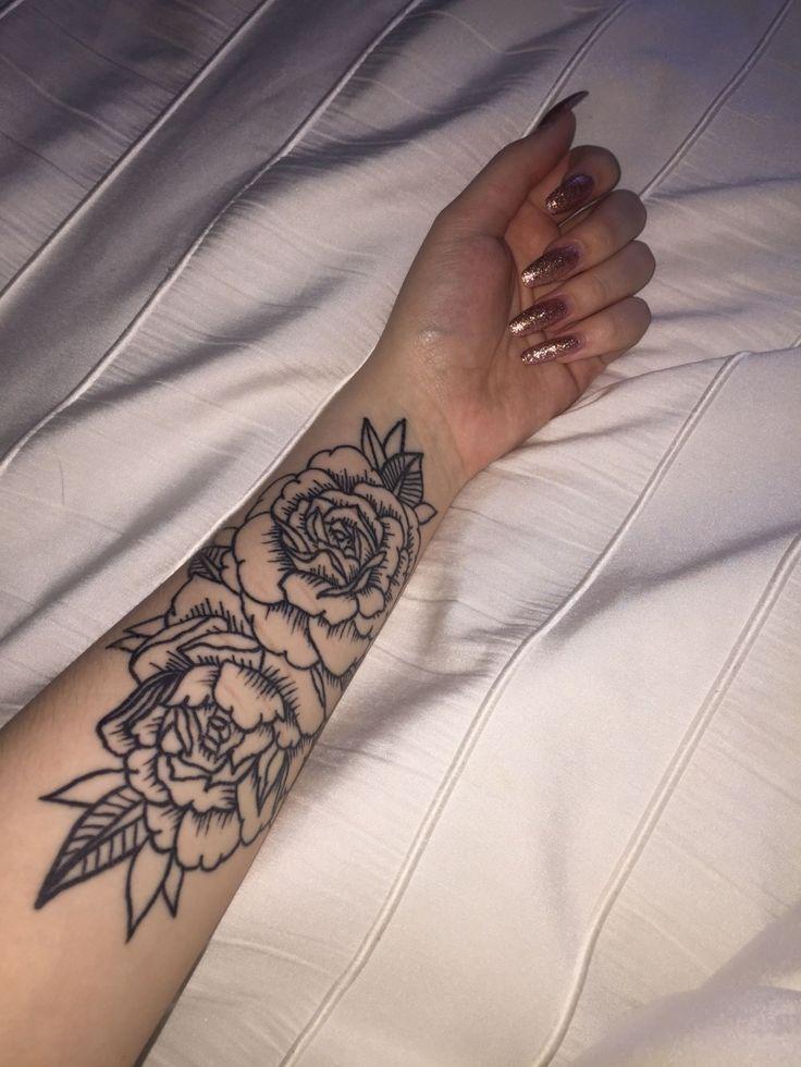 50 Arm Floral Tattoo Designs für Frauen 2019 Seite 19 von