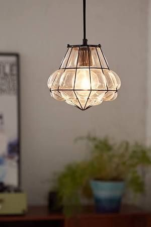mexican blown glass light fixtures  Google Search
