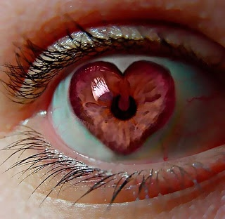 This is how my eye looks when I look at you...