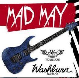 Gana una fantástica #guitarra eléctrica de #Washburn en EMP Una Guitarra Eléctrica de gran calidad, nueva Washburn Parallaxe. Músicos del #rock y del #metal como por ejemplo, Paul Stanley (KISS), Ola England, Trevor Rabin, Michael Voss, Nuno Bettencourt (Extreme) or Freddy Scherer (Gotthard) tocan con guitarras Washburn y ¡tal vez tu podrías tener tú podrías tener tu propia #guitarra #Washburn! Fecha de cierre: 17.05.2014 http://emp.me/AxG