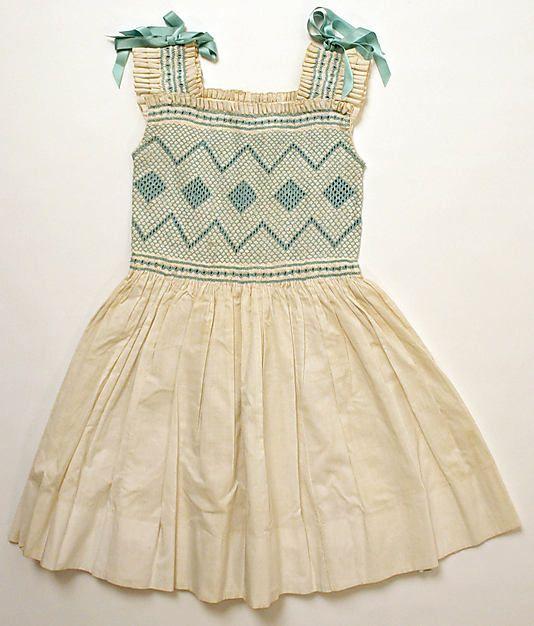 Dress, Italy, 1955