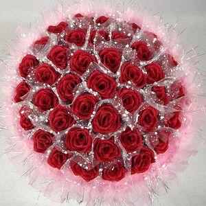 Вы 78 diy искусственный цветок мультфильм букет розы на день рождения окончания подарок мужчина