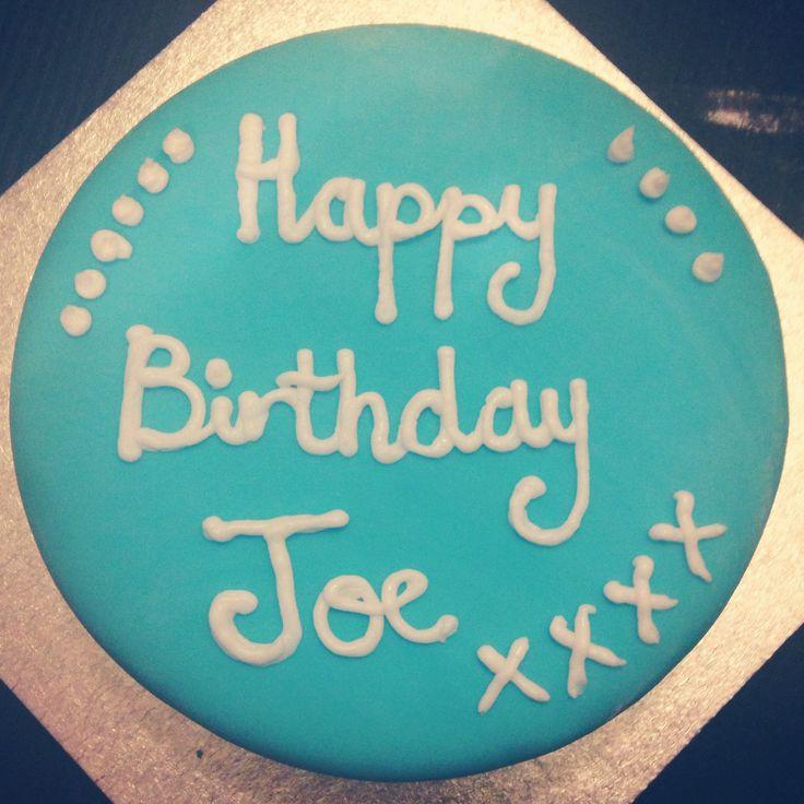 The cake I baked for Joe's birthday!