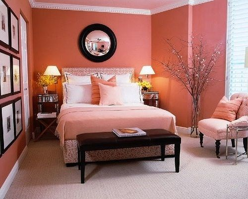 Elegant Bedroom Paint Pink Colors Home Decor Pinterest And