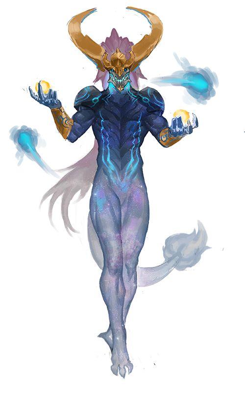 "League Of Legends Character Design Contest : Lolskinconcepts ""humanized aurelion sol by 발뚱땡이 inven"