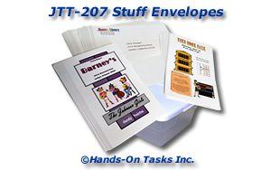 Stuffing Envelopes Job Training Activity