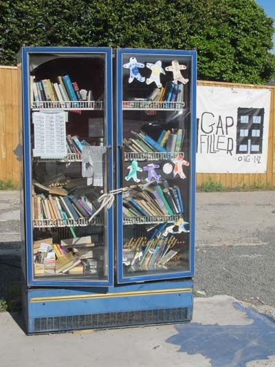 Think Differently Book Exchange, sits on the corner of Barbadoes and Kilmore Streets on the edge of the CBD.