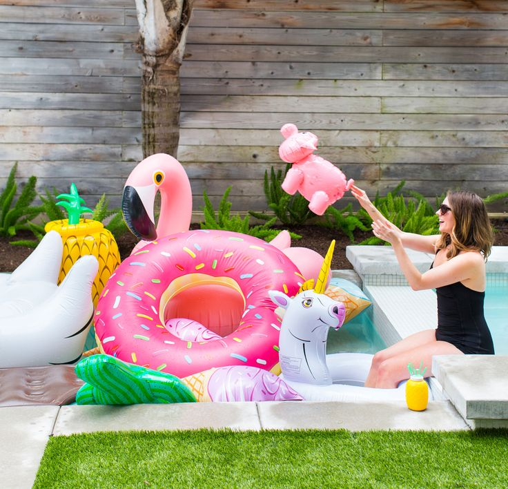 Food Inflatable Pool Floats