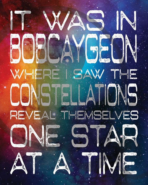 Bobcaygeon The Tragically Hip Gord Downie by BlackCatDesignAndArt