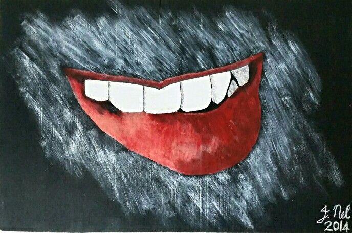 Smile of seduction