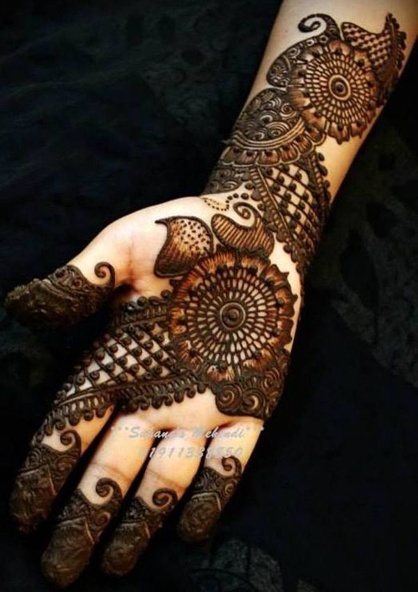 30 Breathtaking Arabic Mehndi Designs To Try In 2014