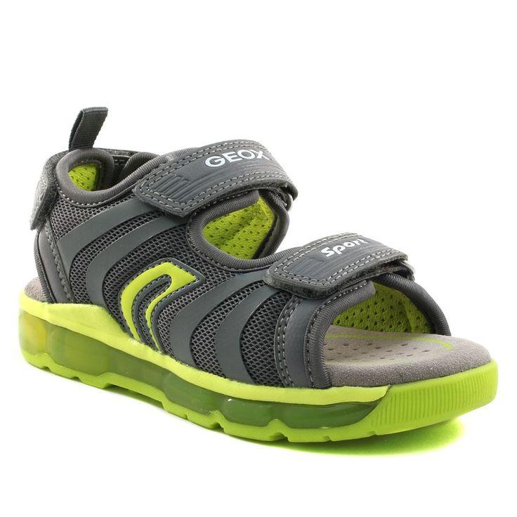 558A GEOX SANDAL ANDROID J720QB GRIS www.ouistiti.shoes le spécialiste internet #chaussures #bébé, #enfant, #fille, #garcon, #junior et #femme collection printemps été 2017