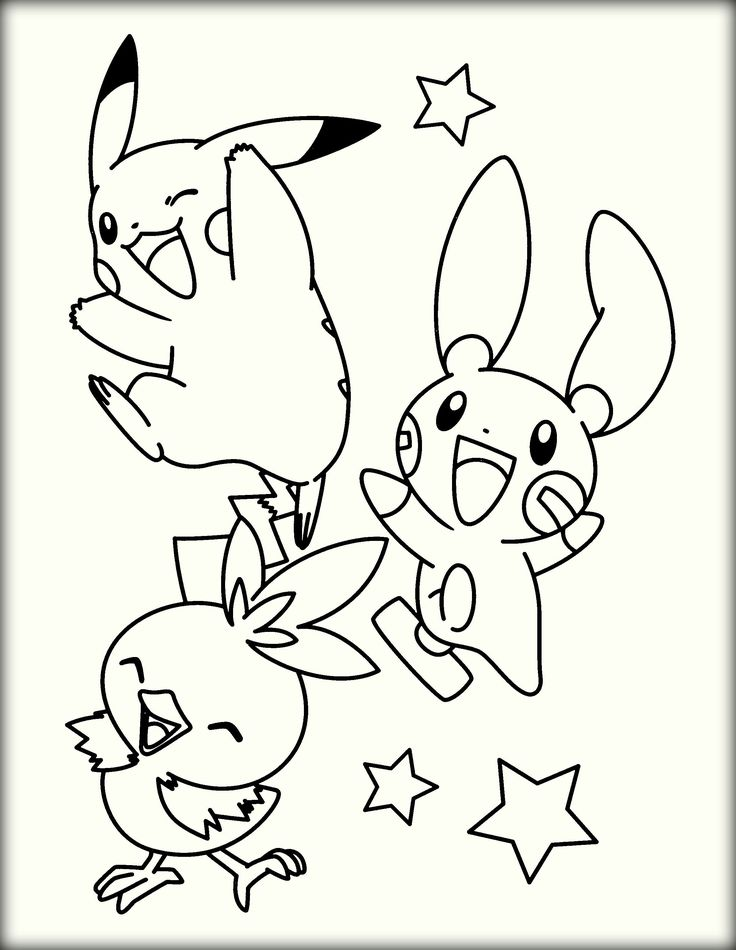 Free Pokemon Pictures For Coloring Pokemon coloring