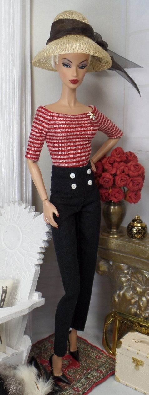 Seaport Town for Silkstone Barbie and Victoire by MatisseFashions