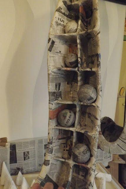 Paper Landscapes series: Paper Sculpture 2A. (Wk in Prog.)