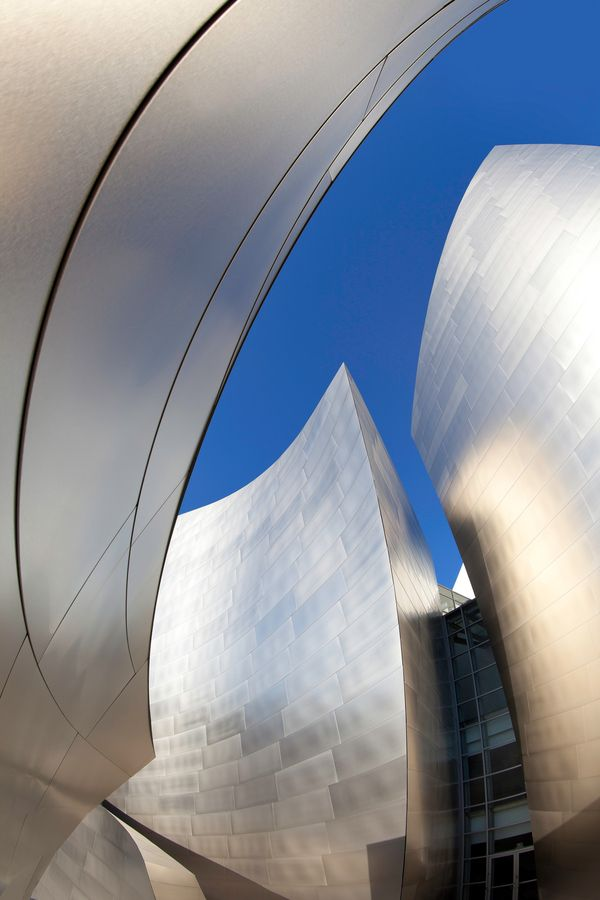 More angles of the Walt Disney Concert Hall, architect Frank Gehry, fab photo by Mathijs van den Bosch