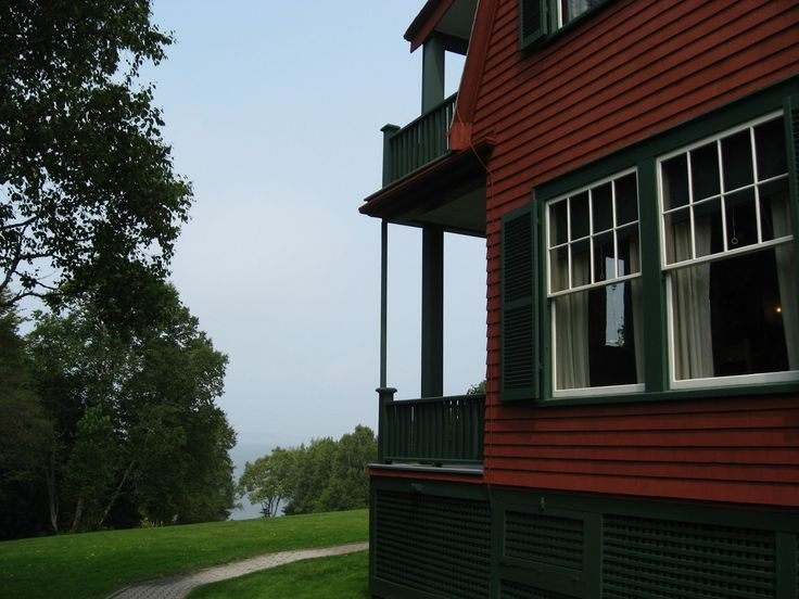 The Roosevelt cottage at Campobello Island, NB
