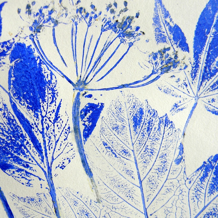 Mangle Prints: Leaf Printing: gorgeous leaf prints - must try doing it this way. printmaking, printing, textiles, art, experiment, http://mangleprints.blogspot.co.uk/2012/06/leaf-printing.html, accessed 23/1/14