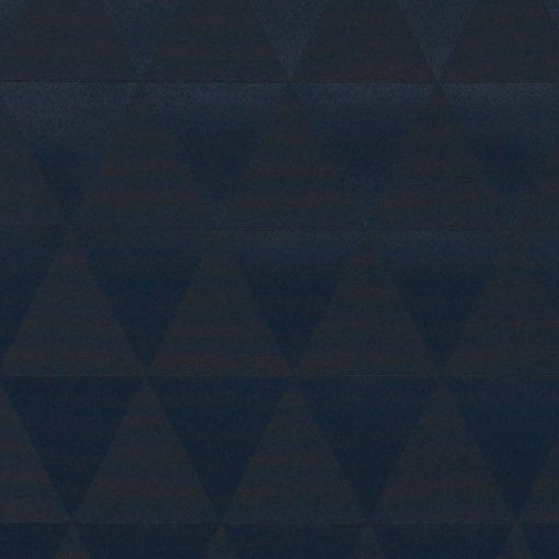 Woven oil cloth blue jacquard