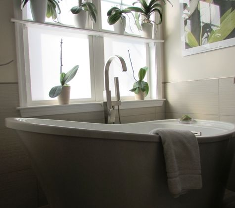 Talon Construction   Frederick, MD. Stand Alone Tub In This Master Bathroom  Renovation By