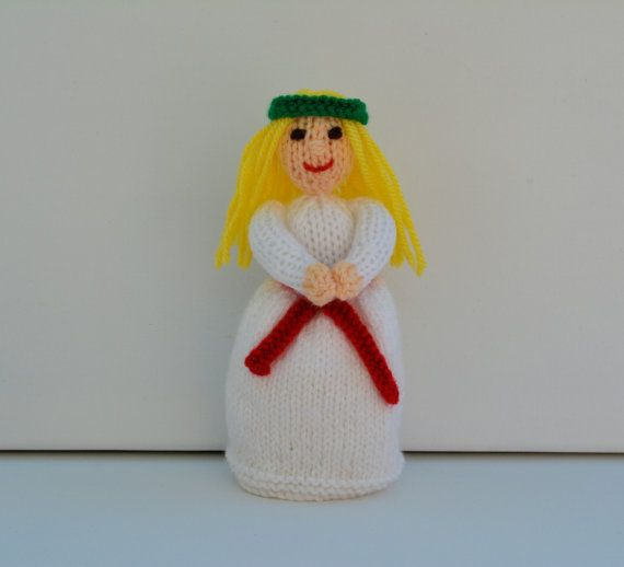 St. Lucia Christmas Doll Swedish Christmas by EdithGraceDesigns