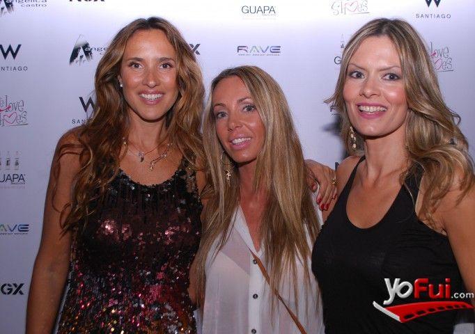 YoFui.com: Angélica Castro, Macarena Ramis, Paola Camaggi en Desfile Colección Verano 2013 de Angélica Castro, Hotel W, Santiago (Chile)
