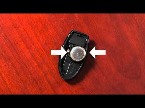 2016 Nissan LEAF - Intelligent Key Remote Battery Replacement (if so equipped) - YouTube
