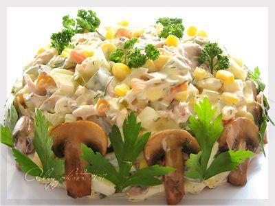 Ну очень вкуснючий салатик!